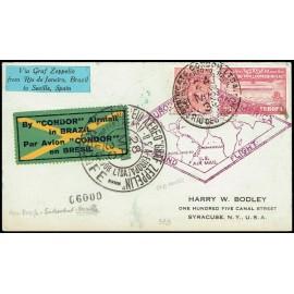Graf Zeppelin Extranjero Brasil (4)