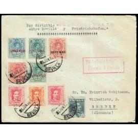 Graf Zeppelin A Alemania ED. 292/296, 317 [x2], 320/321