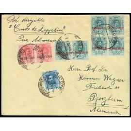 Graf Zeppelin A Alemania ED. 293 [x2], 295 [x6], 319