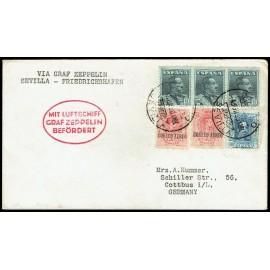 Graf Zeppelin A Alemania ED. 293 [x2], 319, 321 [x3]