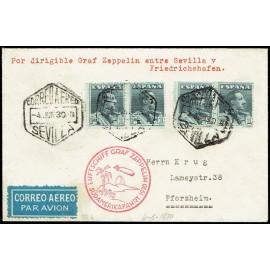 Graf Zeppelin A Alemania ED. 321 [x4]