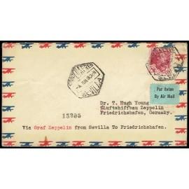 Graf Zeppelin A Alemania ED. 322
