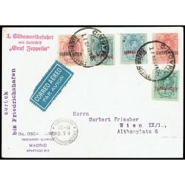 Graf Zeppelin A Alemania ED. 292/296