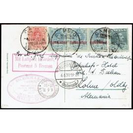 Graf Zeppelin A Alemania ED. 293, 294 [x3], 321