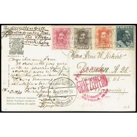 Graf Zeppelin A Alemania ED. 312, 318, 320/321