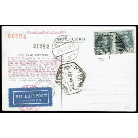 Graf Zeppelin A Alemania ED. 321 [x2]