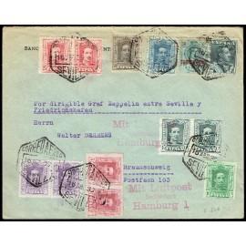 Graf Zeppelin No Recogido A Alemania ED. 295, 312 [x2], 314, 315B [x2], 316 [x2], 317 [x2], 318/319, 321