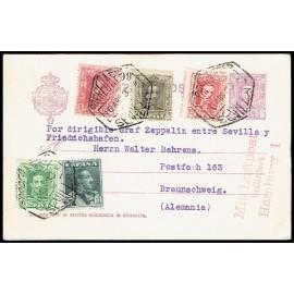 Graf Zeppelin No Recogido A Alemania ED. 312, 314, 317/318, 321