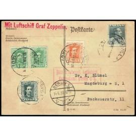 Graf Zeppelin No Recogido A Alemania ED. 314 [x2], 315B, 320/321