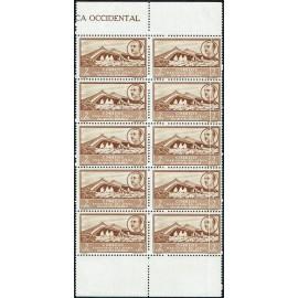 1950 ED. África Occidental 3iw ** [x10]