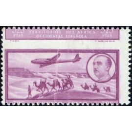 1951 ED. África Occidental 24dh **