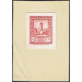 1929 ED. Andorra 20P