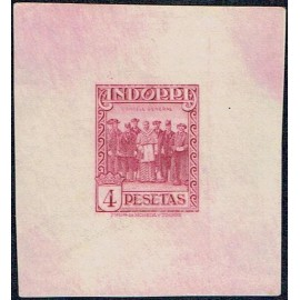 1929 ED. Andorra 25P