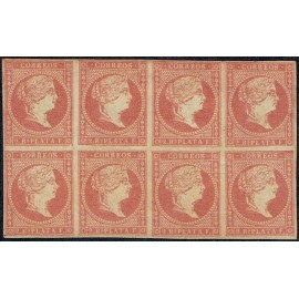 1857 ED. Antillas 9 * [x8]