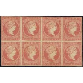 1857 ED. Antilles 9 * [x8]