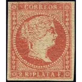1856 ED. Antillas 6 *