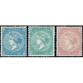1868 ED. Antilles 13/15 *