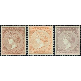 1869 ED. Antilles 16/18 *