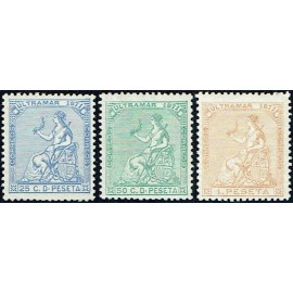 1871 ED. Antilles 22/24 *