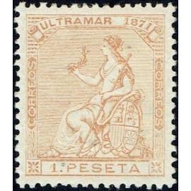 1871 ED. Antillas 24 *