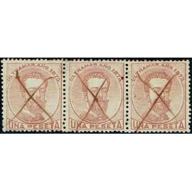 1873 ED. Antilles 27 us [x3]