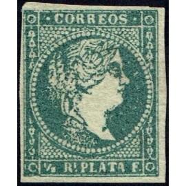 1856 ED. Antillas 4 *