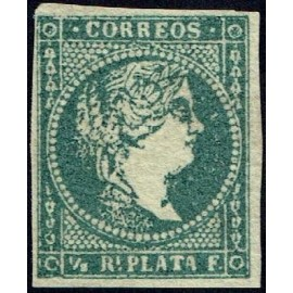 1856 ED. Antilles 4 *