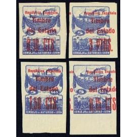 1937 ED. Asturias NE 01s/02s, NE 04s/05s **