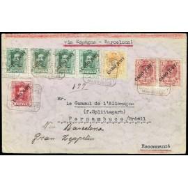 Colonias Españolas ED. Cabo Juby 9,15 [x2], 23, 24 [x4]