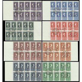 1950 ED. 1075/1082 us [x10]