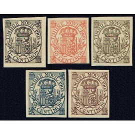 1903 ED. Fiscales Alemany 74s/78s (*)