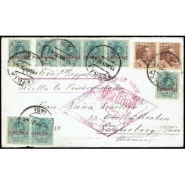 Graf Zeppelin De Sevilla A Sevilla ED. 295 [x8], 323 [x2]