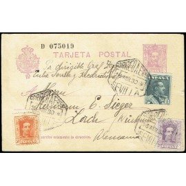 Graf Zeppelin No Recogido A Alemania ED. 316, 320/321
