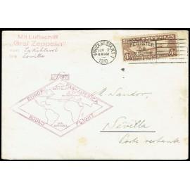 Graf Zeppelin Extranjero Estados Unidos