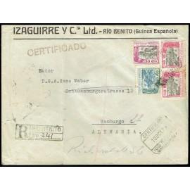 Colonias Españolas ED. Guinea 168, 169 [x2], 174