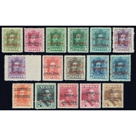 1928 ED. Andorra 01d/12d **