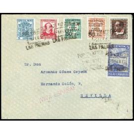 1936-1937 ED. Canarias 4/6 us