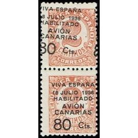 1936-1937 ED. Canarias 5hdh *