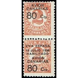 1936-1937 ED. Canarias 5hdv *