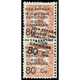 1936-1937 ED. Canarias 5hhx * [x2]