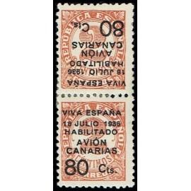 1936-1937 ED. Canarias 5hvhi *