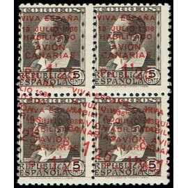 1937 ED. Canarias 07hhx * [x4]