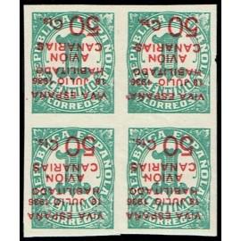 1937 ED. Canarias 08hi ** [x4]