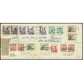 1937 ED. Canarias 23 [x4], 25 [x2], 26 [x2], 27 [x2], 28, 29 [x2], 30 [x3] us