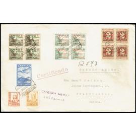 1937 ED. Canarias 34/36 [x4] us