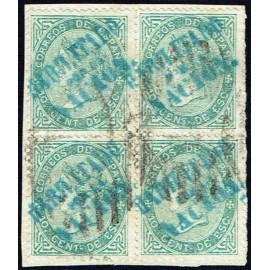 1868 ED. 091 us Andalucía (A) [x4]