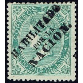 1868 ED. 100 * Madrid (N)