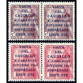 1951 ED. 1088/1089, 1088he/1089he ** (2)