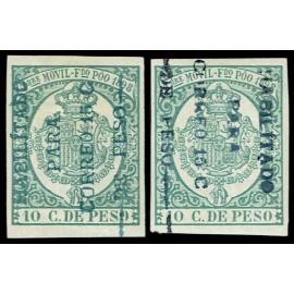 1898 ED. Fernando Poo 43a, 43d *