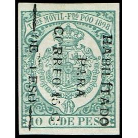 1898 ED. Fernando Poo 43c *
